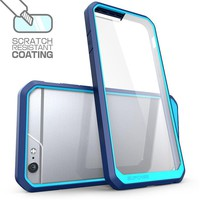 For iPhone 6S Case Silicone Hybrid Protective Cover For iPhone 6 6S Plus 7 Plus Phone Cases For iphone 6 Frame Transparent Clear