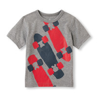 Toddler Boys Matchables Short Sleeve Sporty Tee | The Children's Place