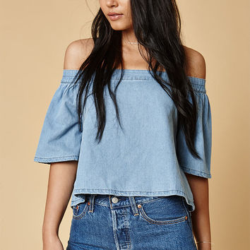 MinkPink Float Off-The-Shoulder Top at PacSun.com