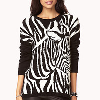 Standout Zebra Sweater