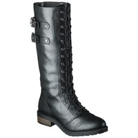 Women's Mossimo Supply Co. Jia Tall Trooper Boots - Black