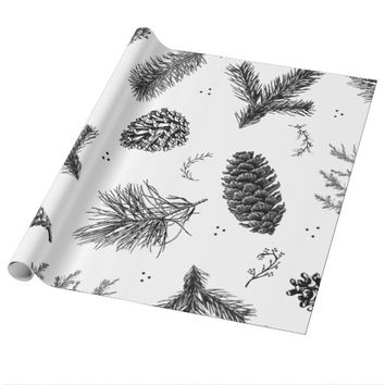 Ghost Pine Wrapping Paper