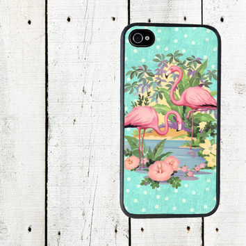 iphone 6 case Pink Flamingo iPhone Case - iPhone 4 4s Case - iPhone 5 Case