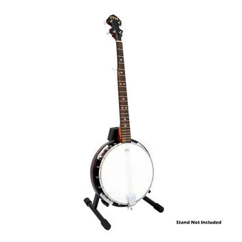 Pyle 5 String Banjo With Chrome Plated Hardware