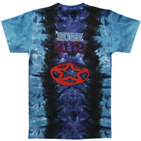 Rush Men's  2112 Tie Dye T-shirt Multi