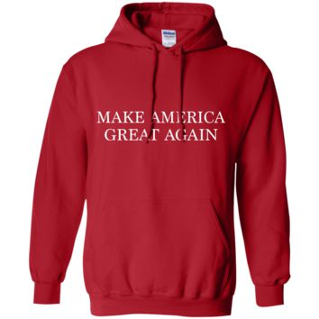 Make America Great Again G185 Gildan Pullover Hoodie 8 oz.