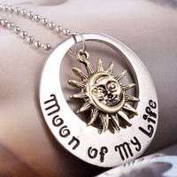 Game of Thrones Moon of my life Sun star Necklace