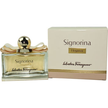 SIGNORINA ELEGANZA by Salvatore Ferragamo EAU DE PARFUM SPRAY 3.4 OZ