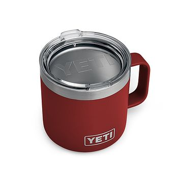 Rambler 14oz. Mug in Brick Red by YETI