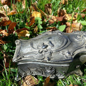 VICTORIAN STYLE COFFIN~ Casket~ (Miniature)~Trinket Box~Jewelry Box~Wicca~Pagan~Magickal~­Keepsake