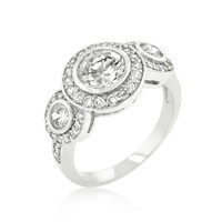 Fitzgerald Cubic Zirconia Ring, size : 06