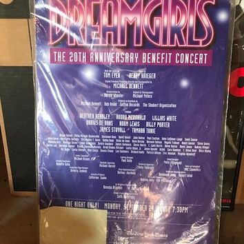 Dreamgirls 20th Anniversary Concert Poster