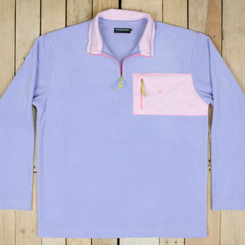 Southern Marsh FieldTec Dune Pullover in Lilac OFSP-LLC