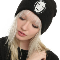Studio Ghibli Spirited Away No Face Cuff Beanie