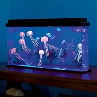 Giant Jellyfish Aquarium with Color-Changing LED Lights: Toys & Games