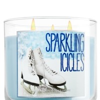 Sparkling Icicles 14.5 oz. 3-Wick Candle   - Slatkin & Co. - Bath & Body Works