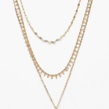Plus Holly Moon Layered Choker Necklace | Boohoo