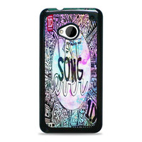 One Direction best song ever band galaxy HTC One M7 Case