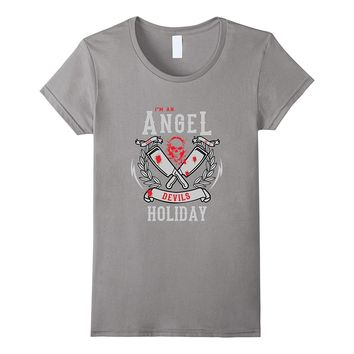 Angel Born On A Devils Holiday | Halloween Skeleton Clothes