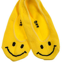 MKL Accessories Socks Smile No Show in Yellow
