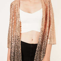 Ombre Sequin Kimono - New In This Week  - New In