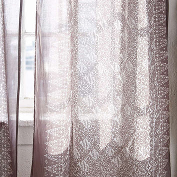 Bali ZigZag Curtain | Urban Outfitters