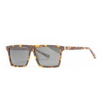 Proof - Cosmo Flat Tortoise Sunglasses, Polarized Lenses