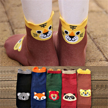 Buy 3 get 1 free, animal funny socks