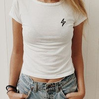 MASON LIGHTNING BOLT PATCH TOP