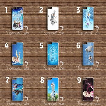FROZEN MAIN CHARACTERS OLAF ELSA PHONE CASE COVER IPHONE AND SAMSUNG MODELS