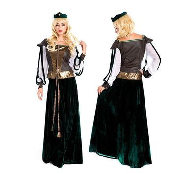 LMFON Games Palace Princess Costume Cosplay Halloween Party Uniform [8978993287]