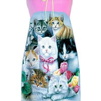 Kittens Cats Collage Strapless Tube Dress