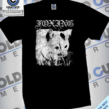 "Cold Cuts Merch - Foxing ""Metal Cat"" Shirt"