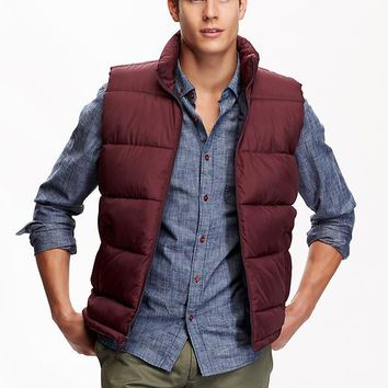 Old Navy Mens Frost Free Quilted Vest
