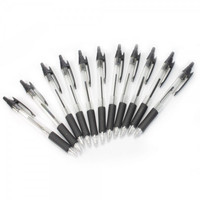 12pcs KRB-130 Super Smooth Retractable Ballpoint Pens
