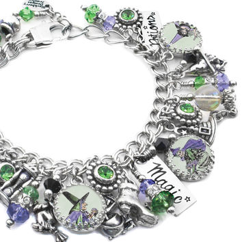 Wicked Witch charm bracelet