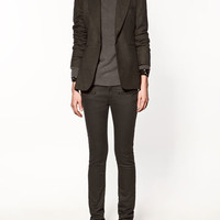 CHECKED BLAZER - Collection - Blazers - Collection - Woman - ZARA Canada