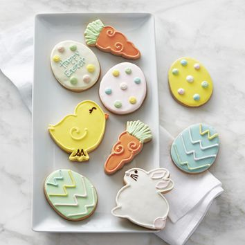 Assorted Easter Cookie Box, Set of 9