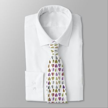 Romance Language Neck Tie