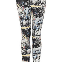 Grafitti Highshine Leggings - The Eclectic Londoners  - We Love