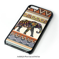 Elephant Aztec Design for iPhone and iPod Touch Case