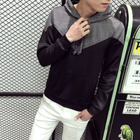 Mens Casual Wing Pullover Hoodie