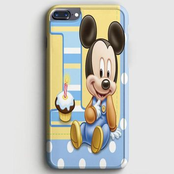 Cute Disney Baby Mickey Mouse Cartoon iPhone 8 Plus Case | casescraft