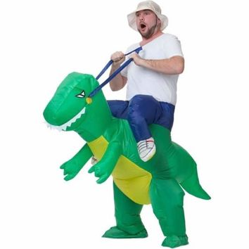 Inflatable Dinosaur Halloween Party Costume For Adults