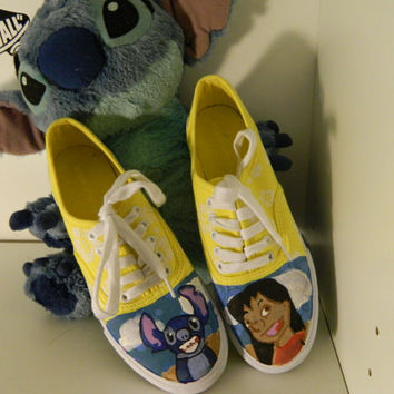 Lilo and Stitch Custom Disney Vans/Keds Shoes Ohana Means Family