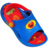Sesame Street Elmo Blue/Red Toddler Sandals 5/6-9/10