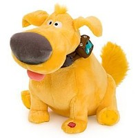 "Disney Talking Dug Plush ""UP"" Movie"