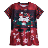 Mickey and Minnie Mouse ''Ugly'' Holiday T-Shirt for Women