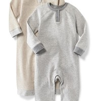 Thermal Raglan-Sleeve One-Piece for Baby | Old Navy