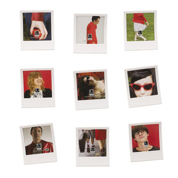 Snap Wall Decor Photo Display Set of 9 by Umbra